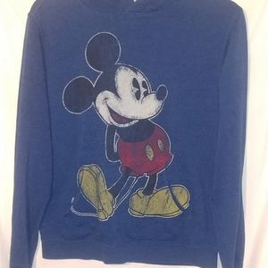 Disney parks mickey mouse pull OVER hoodie
